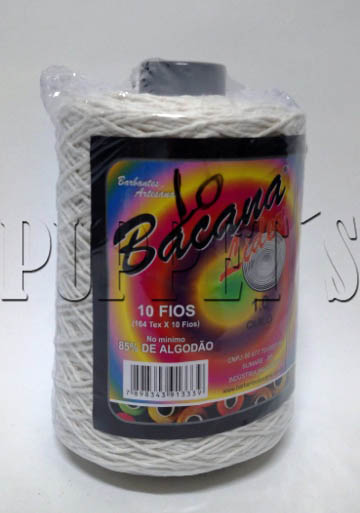 BARBANTE CRU PRIME 10 FIOS 85%ALG BARBANTE-COSTURA
